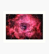 Rosette Nebula [Rose] Art Print