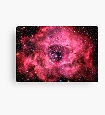 Rosette Nebula [Rose] Canvas Print
