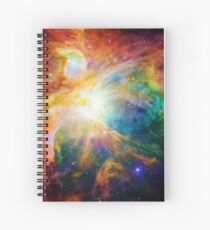Heart of Orion Spiral Notebook