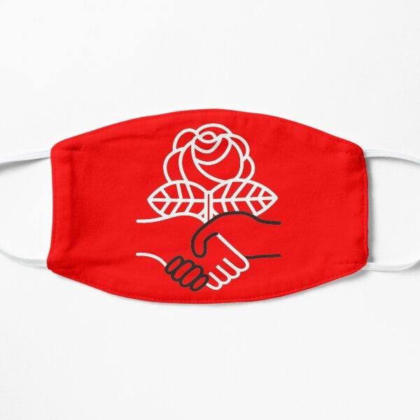 Democratic Socialists of America masks Flat Mask