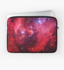 Running Chicken Nebula Laptop Sleeve