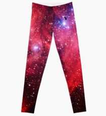Running Chicken Nebula Leggings