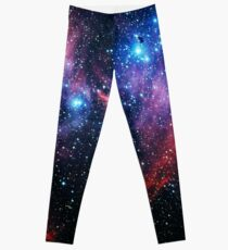 Running Chicken Nebula [Version 2] Leggings