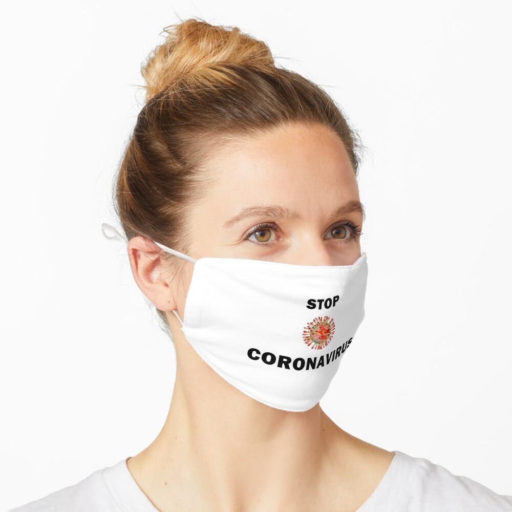 STOP CORONAVIRUS Mask
