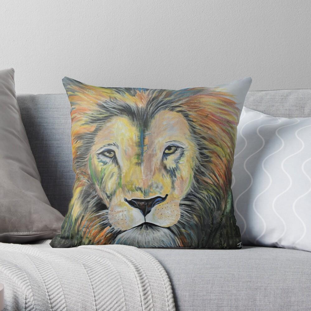 Strength & Courage Throw Pillow