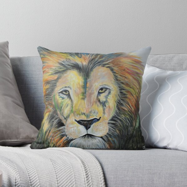 Strength & Courage Throw Pillow