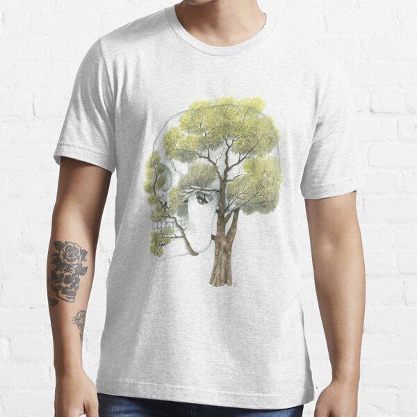 Spring Jacaranda Skull (no background) Essential T-Shirt