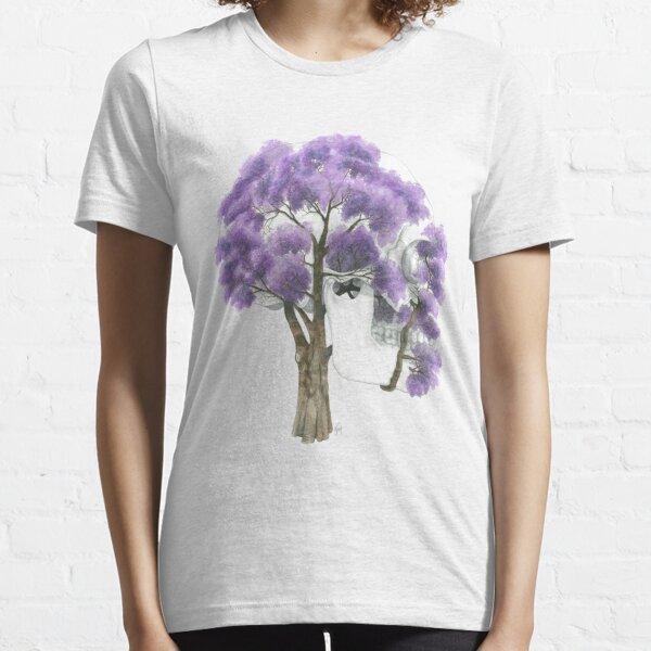 Summer Jacaranda Skull (no background) Essential T-Shirt