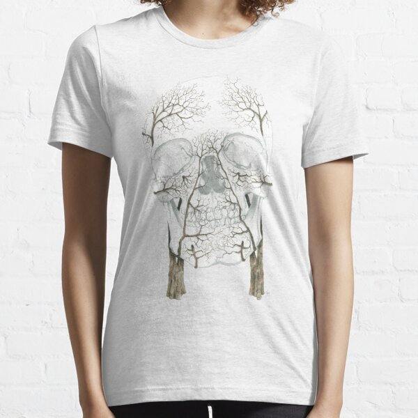Winter Jacaranda Skull (no background) Essential T-Shirt