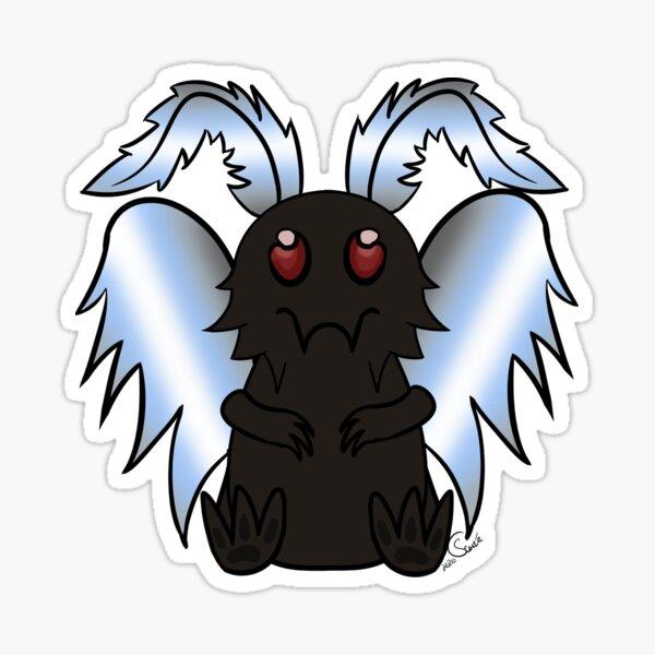 Mothman - Demiboy Pride Sticker