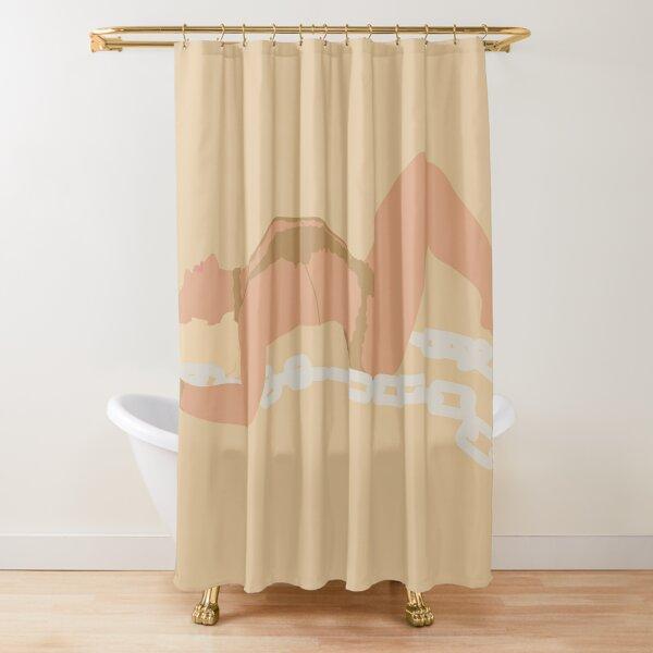 Glory Britney Shower Curtain