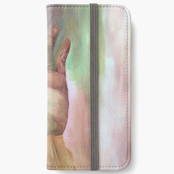 Hand painting iPhone Wallet