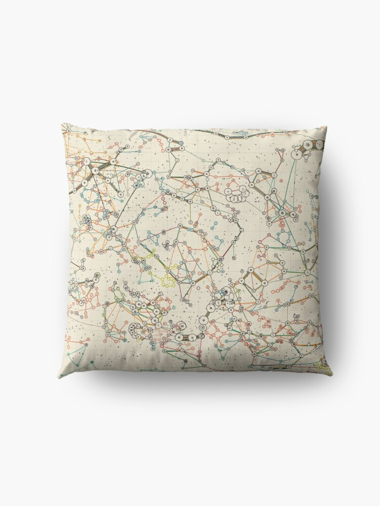 Alternate view of World Constellations Floor Pillow