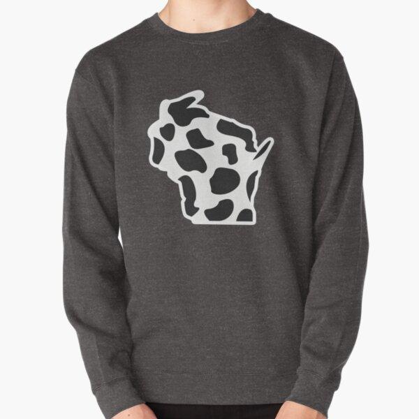 Wisco Cow Pullover Sweatshirt