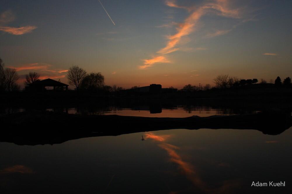 Sunset Reflection by Adam Kuehl