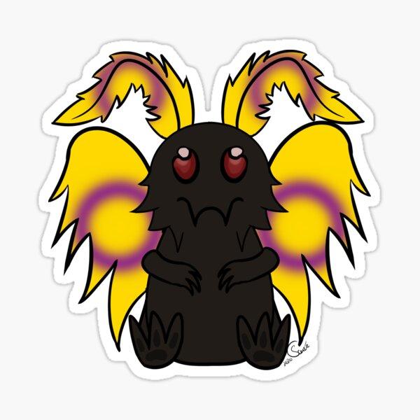 Mothman - Intersex Pride Sticker