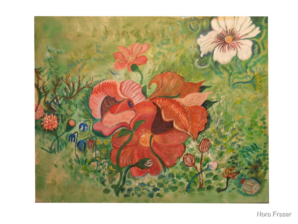 Flowers by Nora Fraser