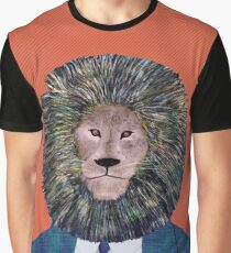 Mr. Lion's portrait Graphic T-Shirt