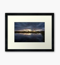In The Calm Framed Print