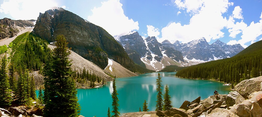 moraine lake by john best