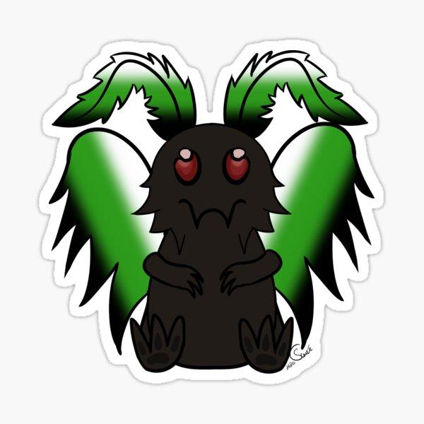 Mothman - Neutral Pride Sticker