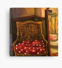 Sycamore Canyon Studio Chair Canvas Print