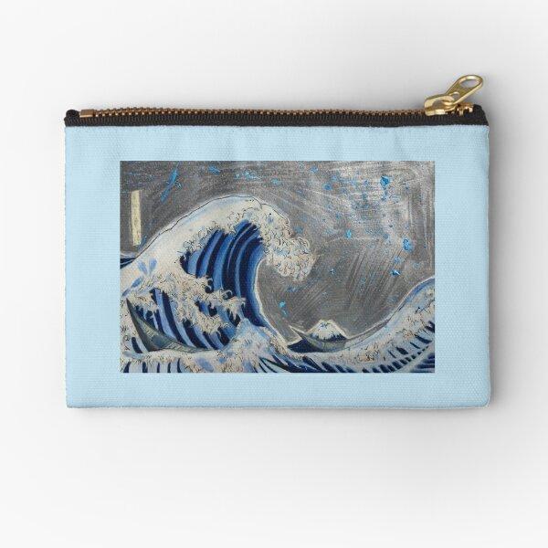 The wave Zipper Pouch