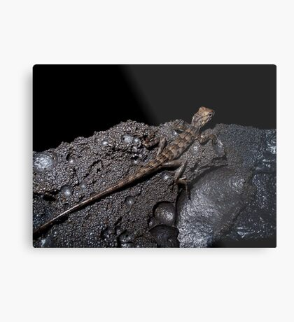 Life in the lava tunnel Metal Print