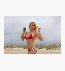 GTA V Beach Girl Photographic Print