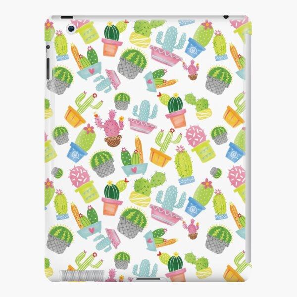 Cute Colorful Watercolor Cacti iPad Snap Case