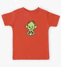 Angry Halloween Zombie Kids Clothes