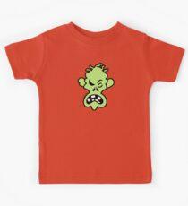 Angry Halloween Zombie Kids Tee