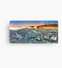 Dunk's Point in Tobermory Canvas Print