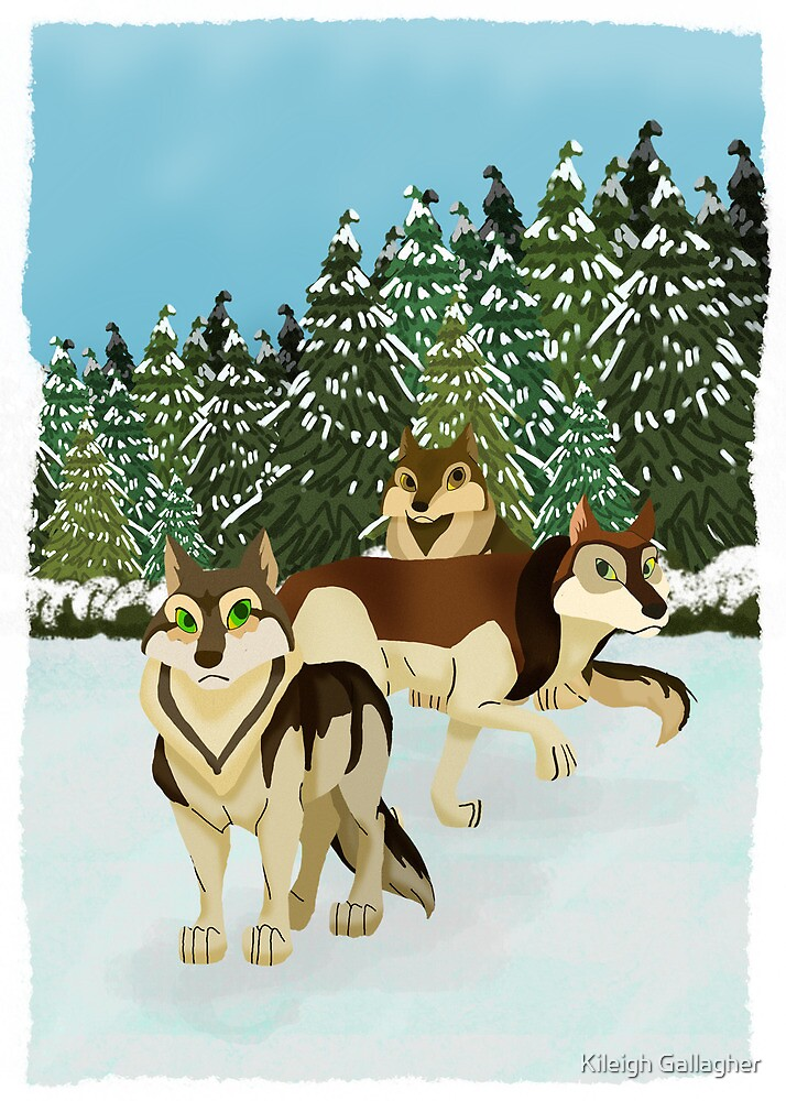 Wolves by Kileigh Gallagher