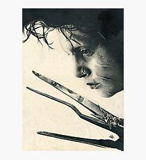 Edward Scissorhands Photographic Print
