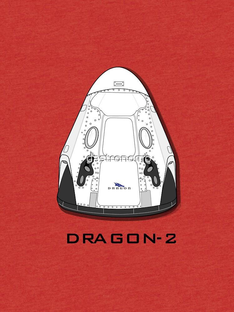 Nave Dragon-2 de SpaceX de dastronomo
