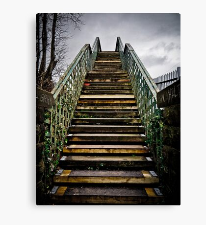 Staircase into the Sky? Canvas Print