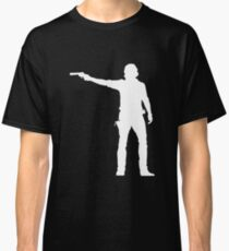 TWD Rick Grimes Silhouette Classic T-Shirt