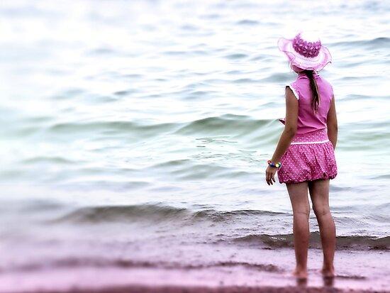 Pink girl by ulryka