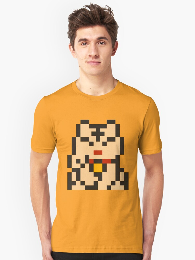 Lucky Cat 8bit-2 by John King III