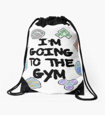 I'm Going To the Gym Drawstring Bag