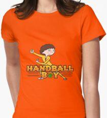 Handball Boy Women's Fitted T-Shirt
