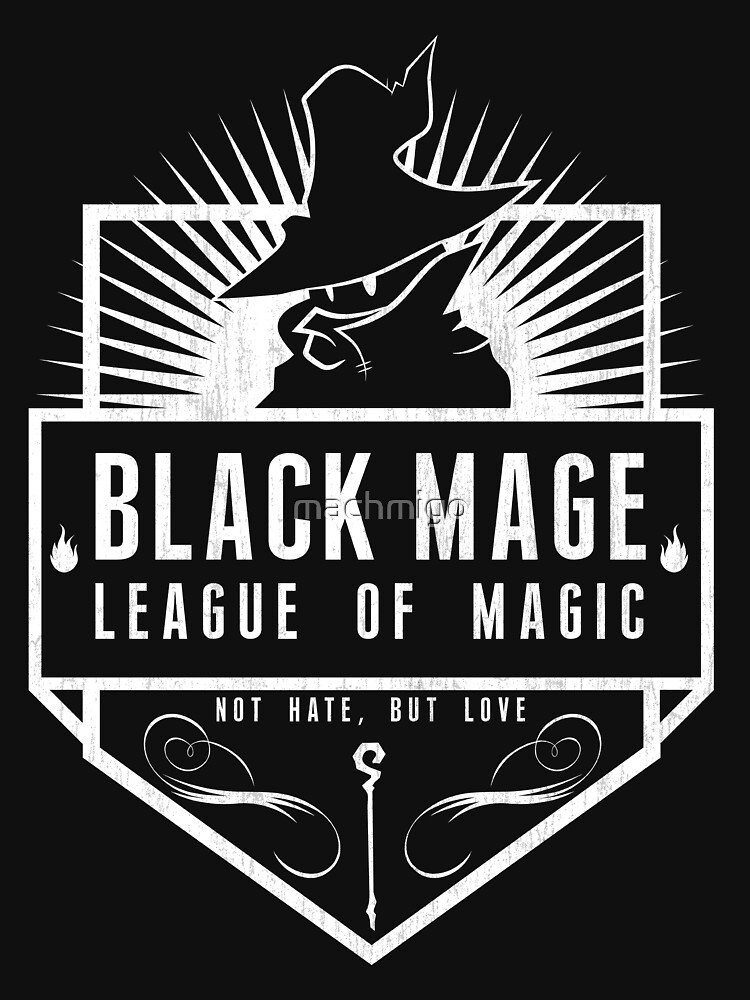 League of Magic: Black | V-Neck