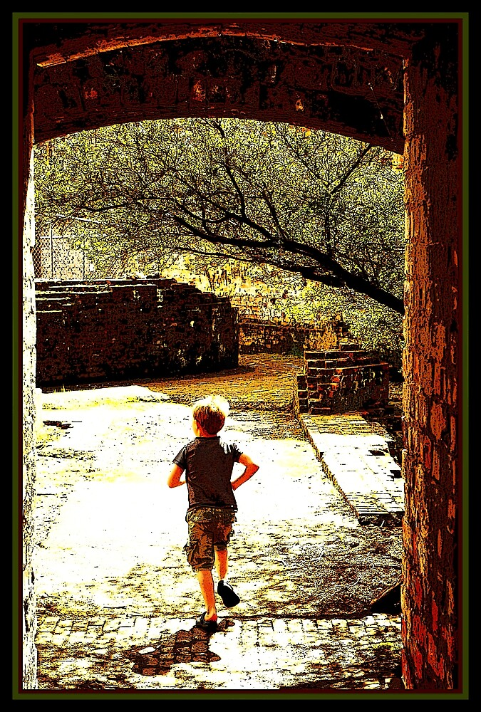 runaway boy by twistwashere