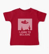 I Juan to Believe - Ugly Christmas Baby Tee