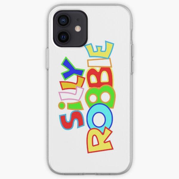 Silly Robbie Logo iPhone Soft Case