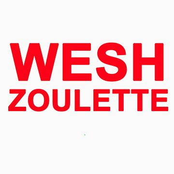 Wesh Zoulette tee shirt - Red by Wesh-Morray