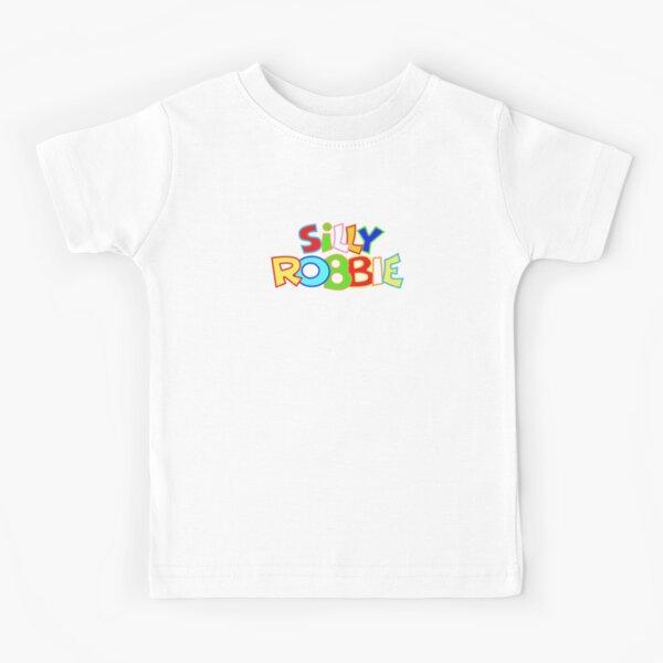 Silly Robbie Kid's Logo  Kids T-Shirt
