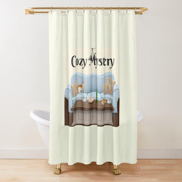 Cozy Mystery Shower Curtain