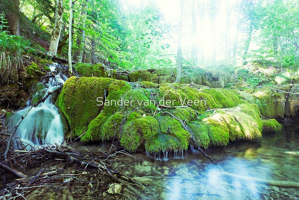 Waterfalls by Sander van der Veen